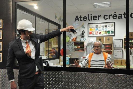 Visites Décalées Leroy Merlin Brest Compagnie Gigot Bitume